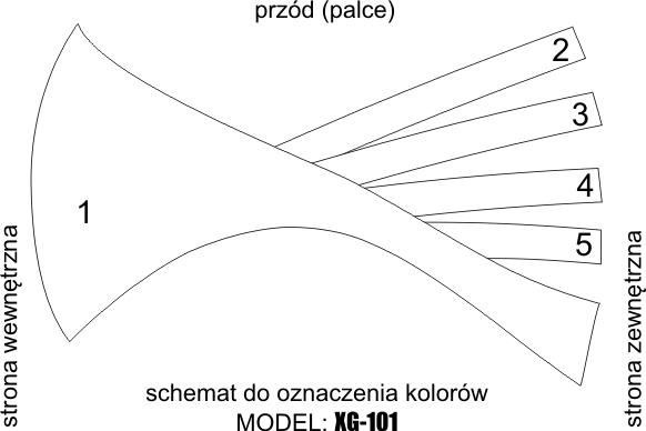 XG-101 – SCHEMAT